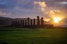 Chile Easter island Rapa Nui