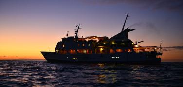 The luxurious Galapagos Yacht Eclipse