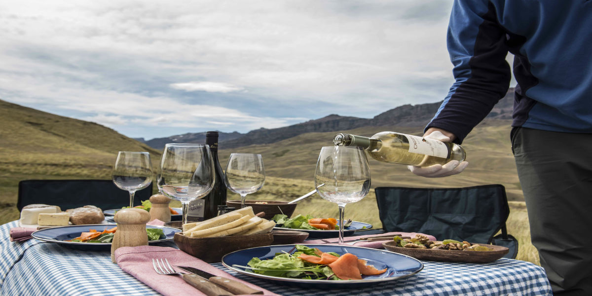 chile-patagonia-awasi-lunch-honeymoon