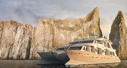 Alya Motor Catamaran